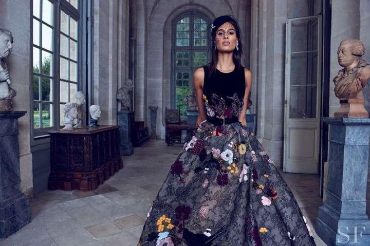 Aylah Petersen для журнала Vogue Japan