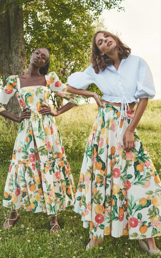 Коллекция женской одежды в деталях Zimmermann осень-зима 2021-2022